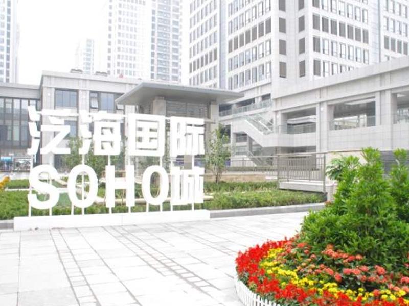 武汉泛海国际-湖北防火门应用
